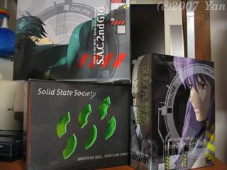 攻殻機動隊DVD-BOX[PowerShot A70]