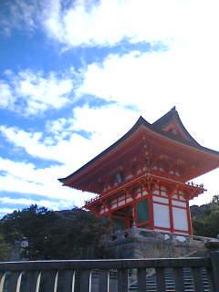 清水寺に来ました