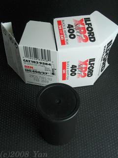 イルフォードXP2スーパー400[PowerShot A70]