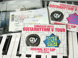 HOTEI GUITARHYTHM V TOUR 2009/6/16で買ったもの[PowerShot A590 IS]