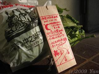 伊参スタジオ映画祭2009のキャベツ[PowerShot A590 IS]