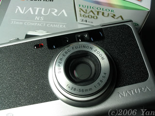 NATURA NS買いました[PowerShot A70]