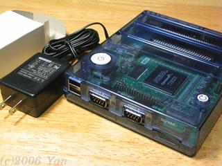 1チップMSXとACアダプター[PowerShot A70]