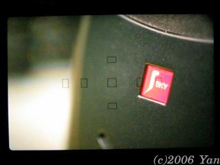 EF50mm F2.5 コンパクトマクロ + ライフサイズコンバーターEFでのファインダー内[PowerShotA70]