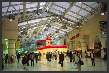 ある日の上野駅[KLASSE S, F2.8, 1/30, MF:Inf., RDP III]