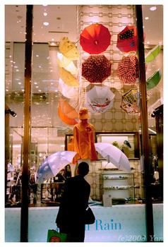 傘のショウ・ウィンドウ[KLASSE S, CENTURIA SUPER200]
