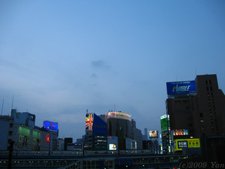 夕渋谷[PowerShot A590 IS]