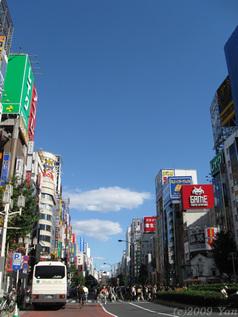 新宿だって秋晴れ[PowerShot A590 IS]