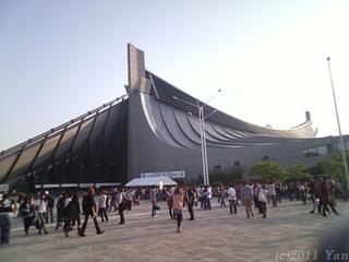 布袋寅泰ライブ会場[SoftBank 823T]