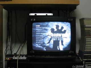 旧テレビで4:3映像を表示[PowerShot A70]