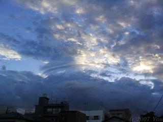 ある日の空[PowerShot A70]