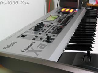 Roland Fantom-Xa[PowerShot A70]