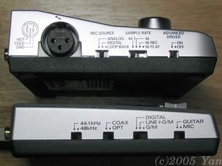 UA-4FXとUA-30の比較